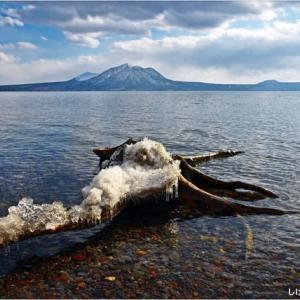 ひ撮り出・・・支笏湖。