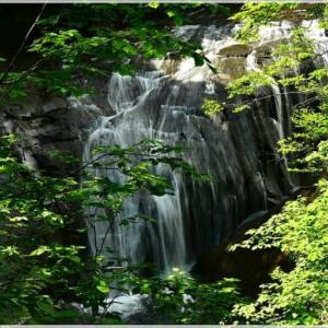 ひ撮り出・・・白扇の滝。