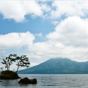 支笏湖の涼・・・。