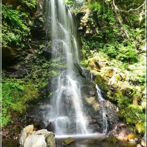 美深町 深緑の滝・・・。