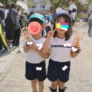幼稚園最後の運動会⭐