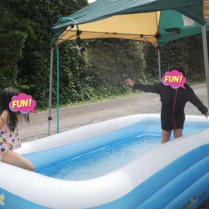 今年はおうちプール♪