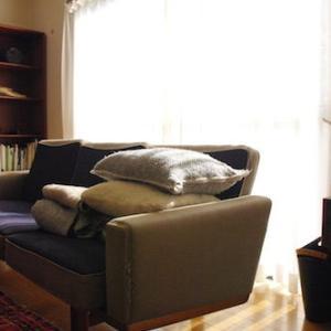 【北欧ウールは気持ちいい♪】わが家の秋冬リビング、始まりました