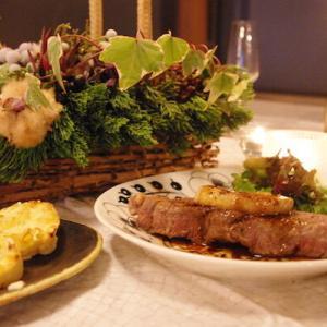 北欧食器と和の器と☆クリスマスイブのお家ごはん☆