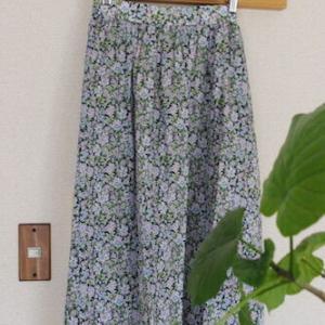 【久しぶりのリバティ】大人に似合う花柄スカート、ようやく見つけました