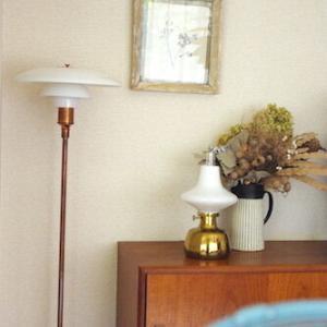 【秋の夜長に】ルイス・ポールセンの「電気じゃない」ヴィンテージランプ