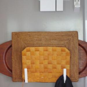 【すっきり、使いやすい収納】towerアイテムで台所の幅狭隙間を有効活用