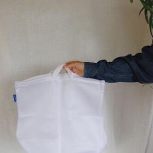 【旅行に最適】見た目よし、使い勝手よしの3coinsの新作ランドリーバッグ