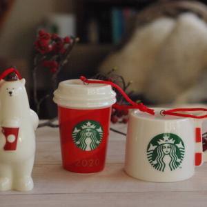 【スタバで発見】かわいい陶器のオーナメントでクリスマス支度始めました