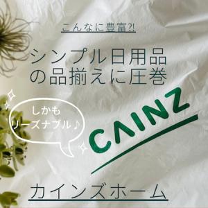 〈こんなに豊富⁈〉シンプル日用品の品揃えに圧巻☆CAINZ HOME☆