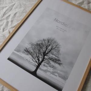 オーク材が美しい〜デンマーク製・無垢材の北欧フレーム、届きました〜