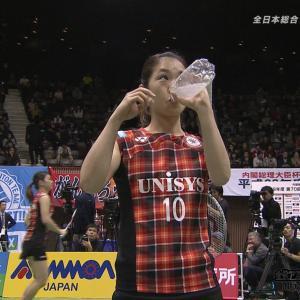 松友美佐紀 「第70回全日本総合バドミントン選手権」161204 女子ダブルス決勝