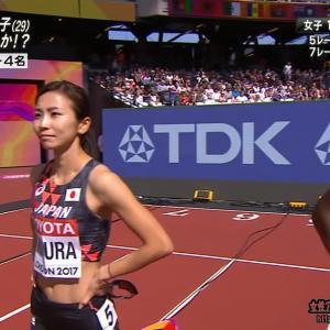 木村文子 「世界陸上2017ロンドン」170812 女子100mハードル予選
