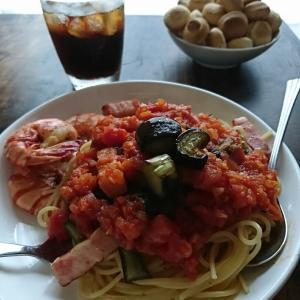 淡路産美味しい玉ねぎで〜基本のトマトソース(作りおき常備菜)〜パスタ お弁当にも♪