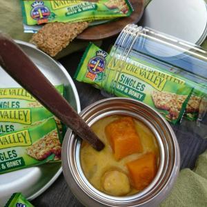 レンチン野菜で時短healthy♪〜かぼちゃの豆乳シチュー(作りおき常備菜)〜