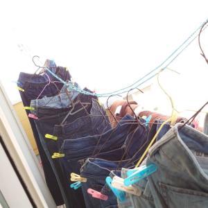 晴れたら洗濯