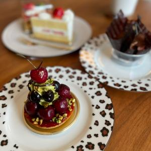 おいしいケーキ三昧の誕生日