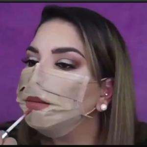 マスクはすっぴん隠しではない