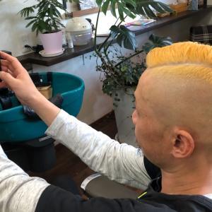 金髪✖︎シンサイフェード