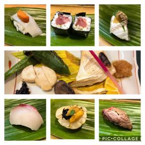 友達3人とお寿司