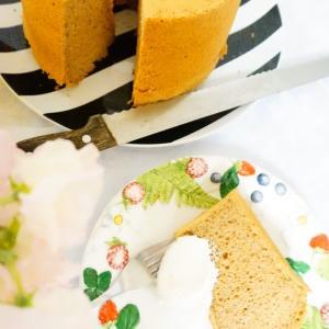 meru家男子の胃袋をつかんだ定番、スパイスシフォンケーキ