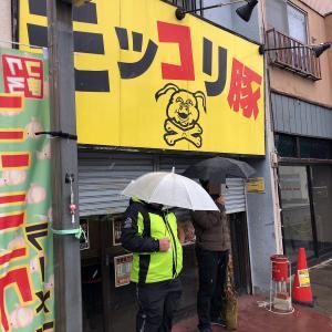 再訪2 モッコリ豚 味噌ラーメン大(880円)ヤサイチョイマシ、ニンニク