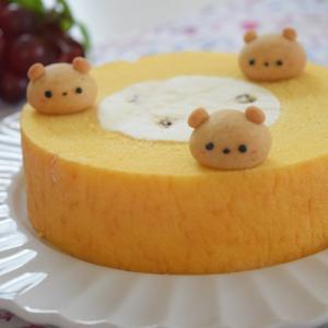 コロコロくまのメープルクッキー♪フローズンバウム・ラムレーズン♡