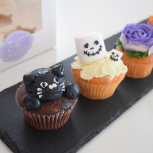 ハロウィンカップケーキ♪フルオーダーメイドケーキ工房メイプリル。