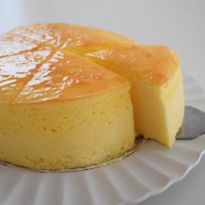 ふわしゅわ〜♪あいりおーさんの割れにくいスフレチーズケーキ♡
