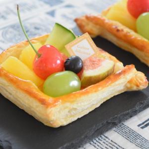【レシピ】材料3つでかんたん華やか♪フルーツカスタードパイ♡業務スーパーのパイシートの感想。