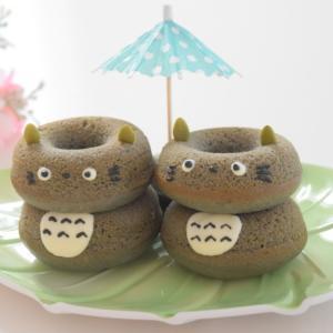 【レシピ】トトロの焼きドーナツ♪