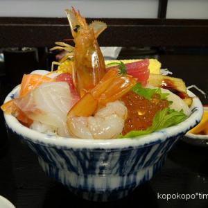 魚屋北辰鮨の海鮮丼◆杜の市場どん辰