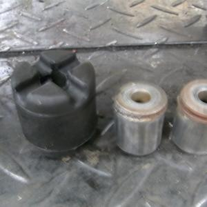 フュージョン ブレーキ修理。