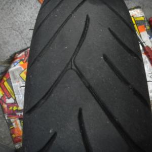 フュージョン タイヤ交換