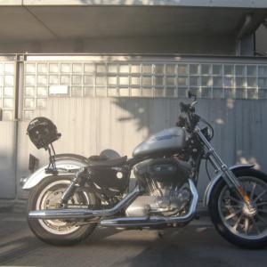 XL883スポーツスター納車