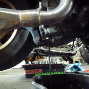 フュージョン タイヤ交換。