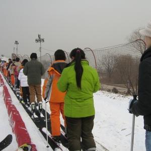 中国 万龍八易スキー場