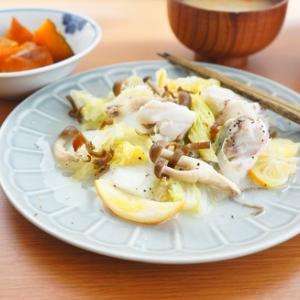 【スパイス大使】レンジで簡単♪たらと白菜のレモンペッパー蒸し