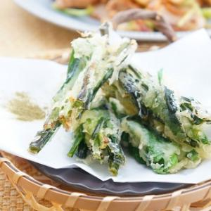 よろこばレシピ♪免疫力UPが期待できる!旬の春野菜にらの天ぷら