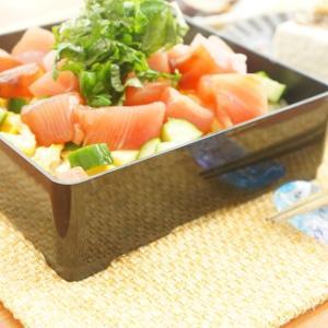 【モニター】100均重箱のまぐろちらし寿司