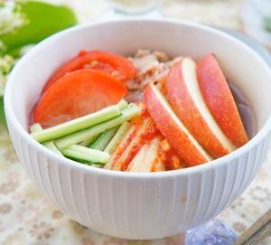 【缶詰レシピ】火を使わなくても作れる♪ツナ缶と春雨で冷麺風
