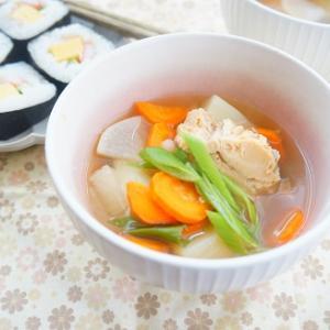 【缶詰レシピ】鮭の中骨水煮缶でチェプオハウ