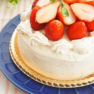 ひな祭りに♪いちごクリームのいちごデコレーションケーキと難読漢字問題第47問