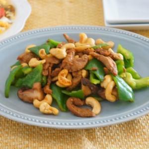 大豆ミートのカシューナッツ炒め