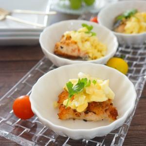 【フーディストアワード2021】さっぱりヘルシー♪秋鮭のバジルパン粉焼きヨーグルトタルタルソース