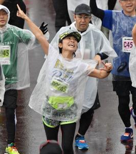 豪雨 × 濁流 × 42.195km 完走!!