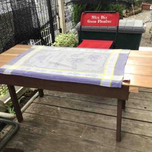 StayHomeの時テーブルを作りました〜