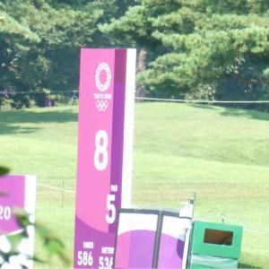 今日は霞ヶ関でゴルフの決勝