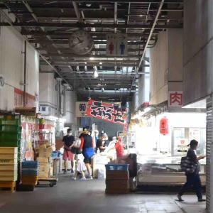 土曜日の川越中央市場でおいしいものをたくさん買いました。