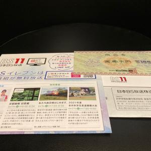 【9414】日本BS放送/巣ごもり需要によるTV通販好調で、かりそめの業績回復が継続。